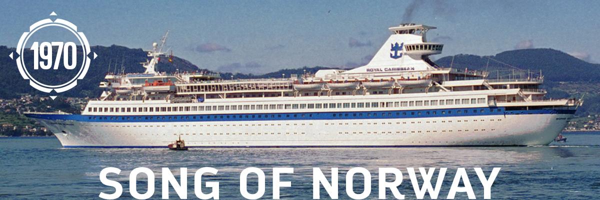 Debutul vasului SOng of Norway
